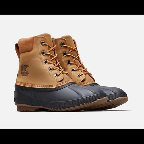 2340fcd011a Sorel Men's Cheyanne II Lace Duck Boot - Size 10.5